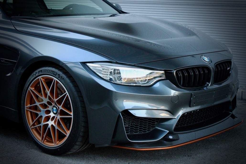 BMW grau Frontansicht